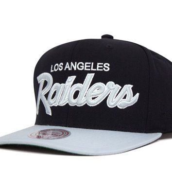 Mitchell And Ness  Los Angeles Raiders Snapback