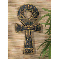 Park Avenue Collection Egyptian Ankh Wall Plaque