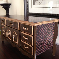 Louis Vuitton Inspired Antique Musical by ColorfulHomeDesigns