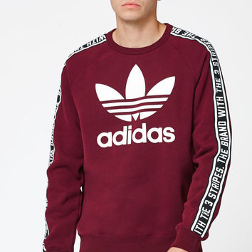 adidas Essentials Crew Neck Sweatshirt at PacSun.com