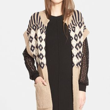 Women's See by Chloe Jacquard Knit Sweater,