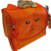 Neat Oh Insulated Lunch Box Placemat Kids School Tote Bag Animal Zoo Easy Clean