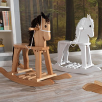 Derby Rocking Horse - White