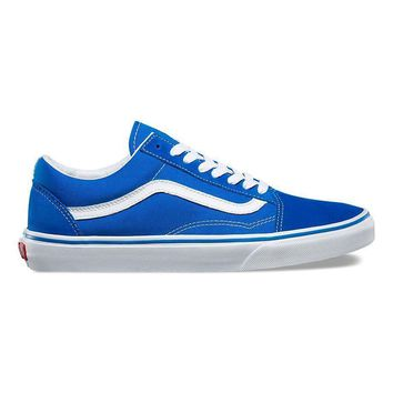 spbest Vans Old Skool (IMPERIAL BLUE/TRUE WHITE)