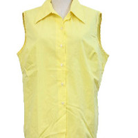 Womens Vintage Sleeveless Shirts at RustyZipper.Com Vintage Clothing