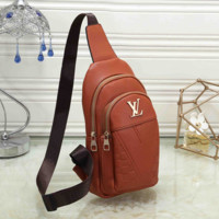 Fashion Leather Chest Bag Crossbody Shoulder Bag