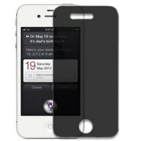 Privacy Screen Protector for Apple iPhone 4S- 3 Pack