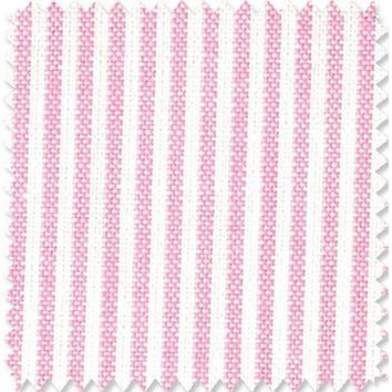 Pink and White Stripe Fabric By The Yard | 100% Cotton