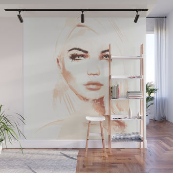 Tone Wall Mural by allisonreich