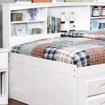 Maya Full Size Bed with Storage