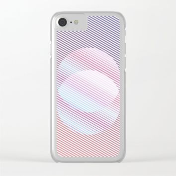 Intersect Clear iPhone Case by eDrawings38