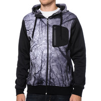 Empyre The Riot Tree Print Tech Fleece Hooded Jacket at Zumiez : PDP