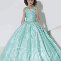 Girls Pageant Dress Tiffany Style 13390 Mint or Coral Sizes 6, 8, 10 or 12