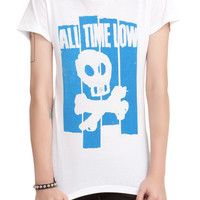 All Time Low Skull Girls T-Shirt