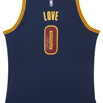 CREYONY Kevin Love Signed Autographed Cleveland Cavaliers Basketball Jersey (Upper Deck Authenticated)