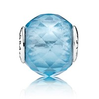 PANDORA ESSENCE Collection Friendship Charm with Sky-Blue Crystal