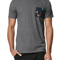 On The Byas Corey Cosmic Pocket Crew T-Shirt - Mens Tee
