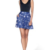 Snowfall Pocket Skater Skirt - LIMITED
