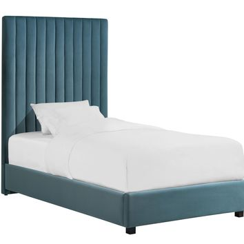 Arabelle Sea Blue Bed in Twin