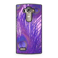 Peacock Feather Purple LG G4 case