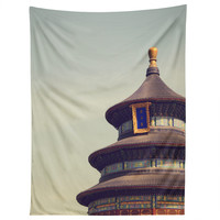 Catherine McDonald Temple Of Heaven Tapestry