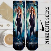 Shadowhunters The Mortal Instruments Movie Custom Nike Elite Socks