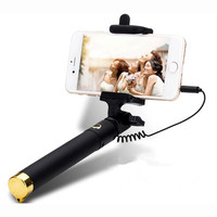 Universal Luxury mini Selfie Stick Monopod for Huawei Honor 7I 8 8V 6X 4X 5X 4C Android Wired Palo Selfie Groove Camera Para