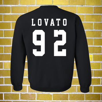 Lovato 92 Sweatshirt Ultra Soft Premium - S M L XL 2XL 3XL - Demi Lovato Unisex Fan Girl Date of Birth DOB Clothing Top T Shirt