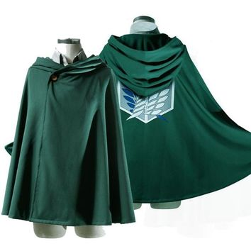 Attack on Titan Cosplay Scouting Legion Cloak/Cape