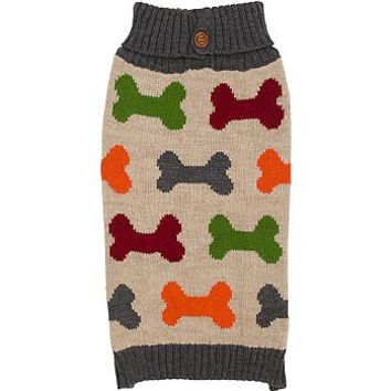 Petco Wag-a-tude Multi Bone Dog Sweater