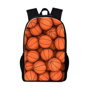 Cool Backpack school Soccerly School Backpacks for Teenager Boys Cool Bookbags Pattern Stylish Mochilas Book Bag for High Class Grade Student Bagpack AT_52_3