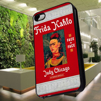 Frida Kahlo Face to Face Case for iPhone 4,iPhone 4s,iPhone 5,iPhone 5s,iPhone 5c,Samsung Galaxy s2 / s3 / s4