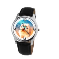 Old English Sheepdog Unisex Wrist Watch- Free Shipping