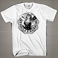 ST. PAULA-HAMBURG  Mens and Women T-Shirt Available Color Black And White