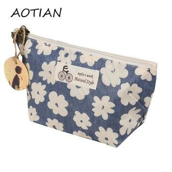 DCCKHG7 Cosmetic New Portable Women Makeup bag Toiletry bag Travel Wash pouch Cosmetic Bag Make Up Organizer Storage beauty Case D36M15