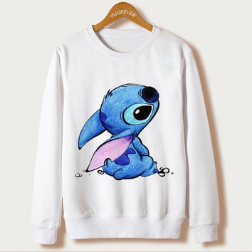 Sudaderas Mujer 2016 Hoody Casual Felpe Donna Women Hoodies Cartoon Print Cute Sweatshirt Harajuku Full Sleeve Autumn Tracksuits