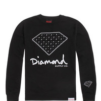 Diamond Supply Co Chill Bandana Crew Fleece at PacSun.com