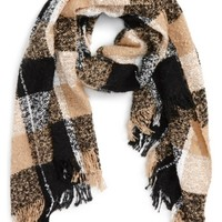 BP. Marled Plaid Scarf | Nordstrom