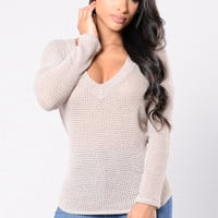 Southside Top - Taupe