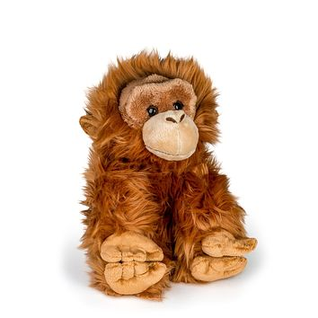 "12"" Stuffed Orangutan Plush Floppy Animal Kingdom Collection"