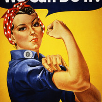 We Can Do It! (Rosie the Riveter) Print by J. Howard Miller at Art.com