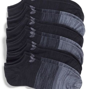 adidas Block Space Dye 6-Pack No-Show Socks | Nordstrom