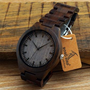 BOBO BIRD H05 Bamboo Wooden Watch