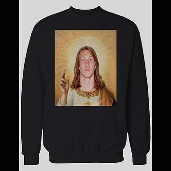 NATIONAL CHAMPION CLEMSON HOLY TREVOR LAWRENCE SWEATER HOODIE