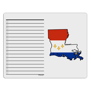 New Orleans Louisiana Flag To Do Shopping List Dry Erase Board