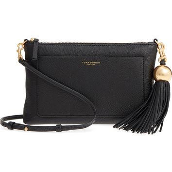 Tory Burch Tassel Leather Crossbody Bag | Nordstrom