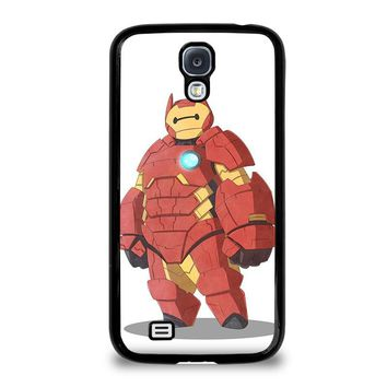 BAYMAX IRON MAN Big Hero 6 Disney Samsung Galaxy S4 Case Cover