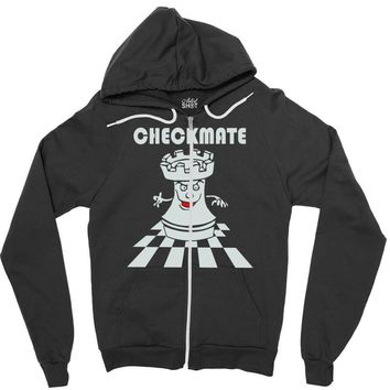 varsity chess checkmate Zipper Hoodie