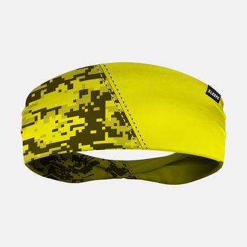Arsenal Digi Camo Yellow Headband
