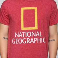 National Geographic Tee- Red